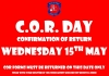 COR Day 2019 - Confirmation of Return